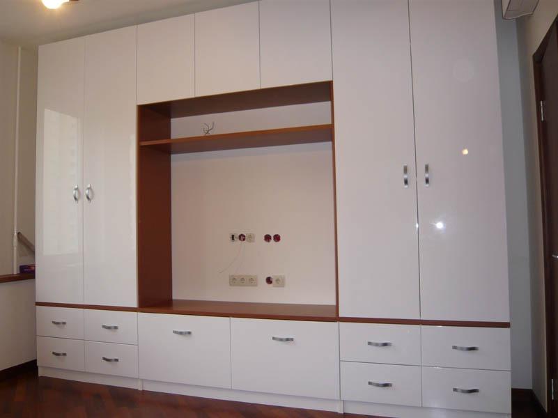 Шкаф стенка в зал фото