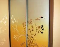 Цветная пескоструйная (матирование) обработка стекол и зеркал