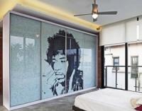Декоративные виниловые пленки ПВХ для стеклянных фасадов и элементов из стекла