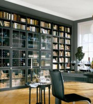 Мебель для библиотеки на заказ с доставкой по москве и моско.